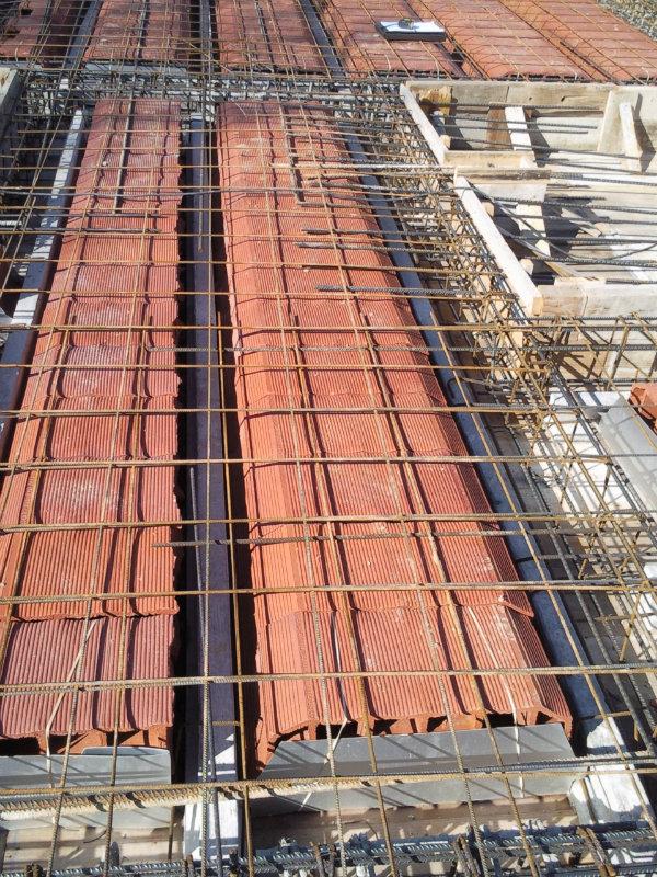 Obras de edificaci n otras obras for Forjado viguetas metalicas